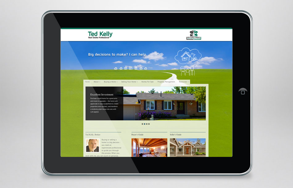 Ted Kelly Seller's Choice Real Estate Home